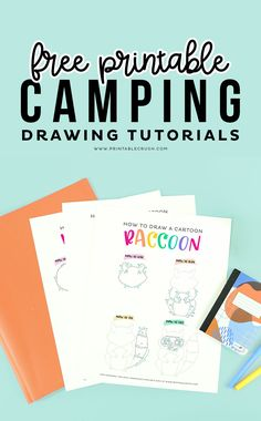 Free Printable Camping Drawing Tutorials #camping #drawingtutorial #printables #freeprintables #drawingtutorials #kidactivities #kidprintables #freedrawingtutorial Printable Activities For Kids, Free Printables, Camping Drawing, Craft Tutorials, Drawing Tutorials, Moving To Colorado, Wall Art Quotes, Glue Gun, Kid Stuff