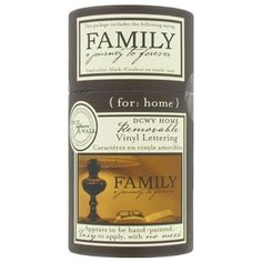 dcwv home family a journey to forever vinyl wall quote shop hobby lobby