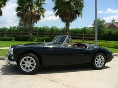 This 1958 MGA is a nice driver that has been lightly personalized by the current owner. Black is rare on these cars but one of the best looking colors, and we like the alloys for performance but would source some painted wires to swap in occasionally. Find it here on eBay in La Marque, Texas with bidding at $9000 and no higher reserve.
