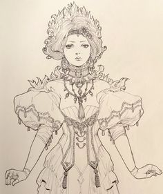 Digital Art Fantasy, Fantasy Art, Girl Drawing Sketches, Black And White Drawing, Fairy Art, Art Studies, Character Art, Character Ideas, Chinese Art