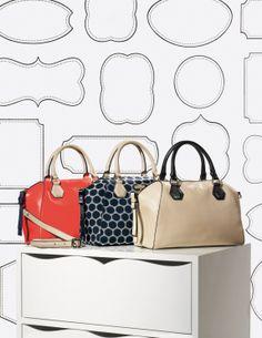 Classic beauty: Kate Spade satchel