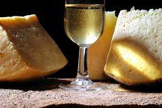 Uva con queso saben a besos.
