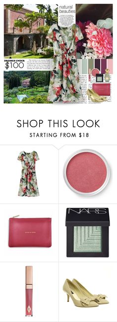 """Under $100: Summer Dresses"" by dezaval ❤ liked on Polyvore featuring Bare Escentuals, Katie Loxton, NARS Cosmetics and Dolce&Gabbana"