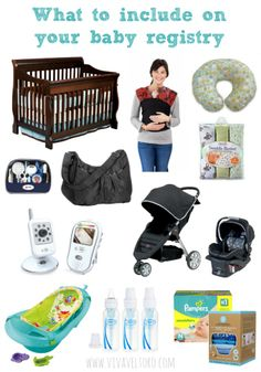 Wondering what to include on your baby registry?  #ad #babyregistry Check out this list!