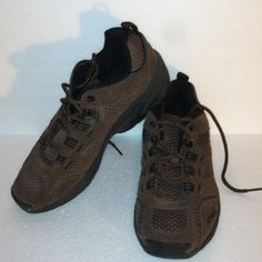RYKA WALKING SHOES SIZE 8.5 Brown lace-up walking shoes.  Good condition. Size 8.5 ryka Shoes Athletic Shoes