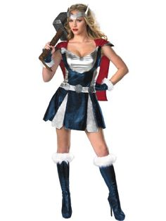 Sexy She Thor Costume Superhero Dress Boots u0026 Gloves Womens Theatrical Costume Sizes Large -  sc 1 st  Pinterest & The 75 best Women TV and Movie Costumes images on Pinterest ...
