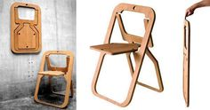 foldable chair/ silla plegable
