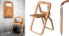 foldable chair/ silla plegable