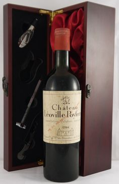 1966 Chateau Leoville - Poyferre 1966 St Julien 2eme Grand Cru Classe Black currant fruit, a complex, yet restrained bouquet of cedar and spices, and a good crisp, clean finish