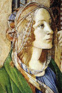 Sandro Botticelli - Renaissance - Detail