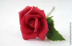 """Заколки ручной работы. Ярмарка Мастеров - ручная работа Шпильки """"красные розы"""". Handmade."""