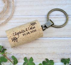 This lovely Wine Cork Keychains is a great idea for Wedding Favors Gift For Guests. Perfect for country, barn, farm rustic and outdoor wine themed wedding. You can personalize this wedding favor with the bride and groom's initials and your wedding date Engraved with a laser machine, and made with the best cork from Portugal. Wedding Giveaways For Guests, Wedding Gifts For Guests, Wedding Welcome Bags, Beach Wedding Favors, Wedding Favor Boxes, Wedding Napkins, Wedding Anniversary Gifts, Personalised Wedding Invitations, Personalized Wedding Gifts