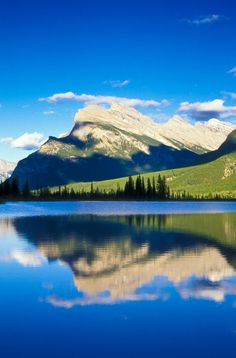 All sizes | NPC802 Mount Rundle. ©Jerry Mercier | Flickr - Photo Sharing!