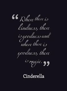 Have courage and be kind - new Cinderella