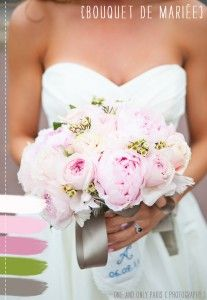 #wedding bouquet #bouquet de mariee #La mariee aux pieds nus ©One and Only  Photography