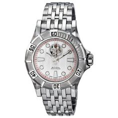 Accutron Kirkwood Men's Stainless Steel Case Automatic Watch 63A111 Accutron. Save 72 Off!. $379.84. Water Resistant up to 100 m. second-hand. luminous