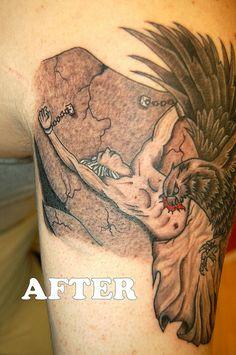 43 Best Prometheus Tattoo images | Tattoos, Mythology ...