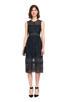 All over lace, sheer panel inserts, faggoting detail. Shift Dresses, Party Dresses, Cute Dresses, Formal Dresses, Spring 2016, Summer 2016, Spring Summer, British Fashion, British Style