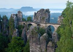 Bastei Bridge in Germany