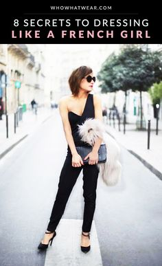 "How to get the certain ""je ne sais quoi"" style of a French girl. // #French #Fashion #Style"