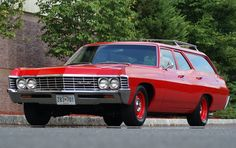 1967 Chevrolet Bel Air Station Wagon has been with the current owner since 2015 and received a frame-on restoration under the previous owner. Power is provided by a rebuilt 350ci V8 backed by a 4-speed automatic. Extensive files document the restoration and engine rebuild, along with suspension upda