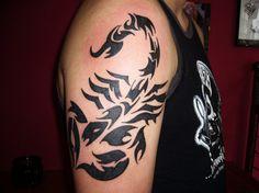 Schorpioen - www.Tattoo-Holland.nl