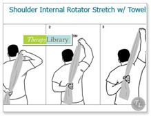 Shoulder Exercises// Good for Rotator Cuff