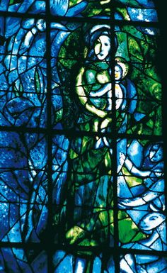 Chagall  - Notre-Dame in Reims one of the masterpieces of Gothic art.