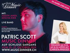 M U S I C D I N N E R Showdaten 2019 Freitag, Samstag, Sonntag, Tickets (CHF inkl. Live Band, Pop Rocks, Dinner Show, Team Events, Business Events, Hiking Trails, Concerts, Oder, German