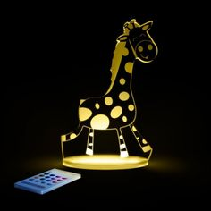Aloka Giraffe SleepyLight Colour Changing LED Night Light with Remote