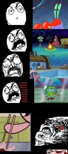 It Portugues Coisas que acontecem no desenho Bob Esponja Lucu So Hard Best Memes, Dankest Memes, Funny Texts, Dog Texts, Funny Comics, Spongebob, Funny Moments, Really Funny, Anime Meme