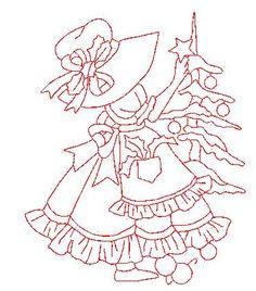 December.  LURASQUINHO ARTEIRA: Pintar ,bordar ou fazer patchcolagem bonecas