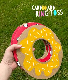 Summer Crafts For Kids & DIY Garden Games is part of crafts Decoracion Summer - How to make Cardboard Ring Toss diy garden game and a simple and cute Shampoo Bottle Boat for paddling pool and bath adventures, summer crafts for kids fun Diy With Kids, Summer Crafts For Kids, Kids Diy, Summer Ideas, Summer Fun, Summer Trends, Donut Birthday Parties, Donut Party, Birthday Games