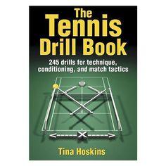 The Tennis Drill Book $19.95