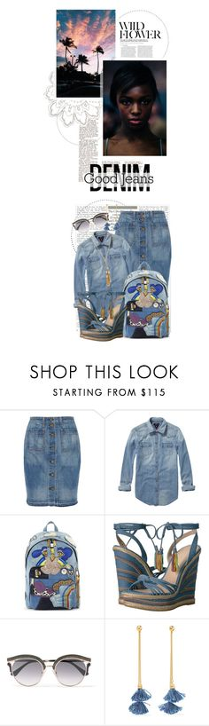 """""""All Denim, Head to Toe"""" by crystal85 ❤ liked on Polyvore featuring rag & bone, Scotch & Soda, Marc Jacobs, Pelle Moda, Jimmy Choo, Ben-Amun, Chloé, Maiyet and alldenim"""