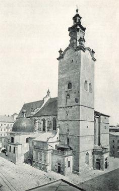 Lviv. Кате́дра у 1898р.