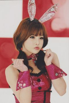 Ohh!How I want to pinch that cheeks of yours Boram-unnie