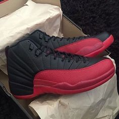 "Skip the corrupt raffles & website crashes. You can now secure a pair of the Nike Air Jordan 12 Retro ""Flu Game"" early at kickbackzny.com."