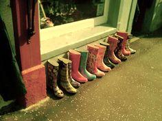 rain boots - took this in Inverary, Scotland