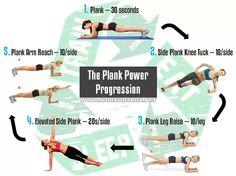 Plank Power Progression