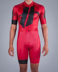 Men's Velocity Short Sleeve Skinsuit | Hincapie Custom