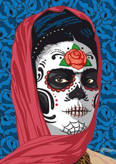 Frida Kahlo, día de los muertos. Gallery works | Pedri Autero