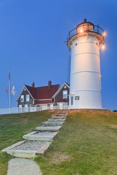 Nobska Lighthouse Massachusetts
