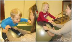 Helps w/hypotonia...Balance - exercise ball