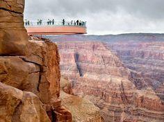 Grand Canyon SkyWalk. I really wanna go here...