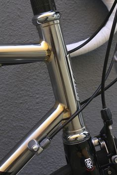 Silver brazed headtube (S O M A f e e d: Soma Smoothie SS: Our Stainless Steel Road Frame All Built Up>