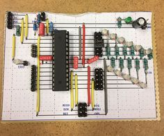 this instructable will show you how to build your own microcontroller from scratch this method