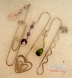 Wire Wrap Jewelry and Tutorials by WireBliss: Simple techniques and designs, stylish, unique and inspirational ideas. Bookmarks.