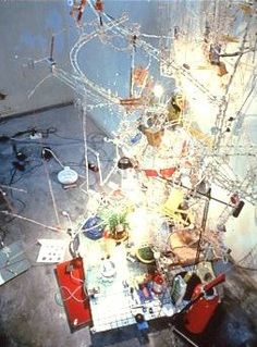 Carnegie International Exhibition 1999 at Carnegie Museum of Art Pittsburgh: Sarah Sze, installation view