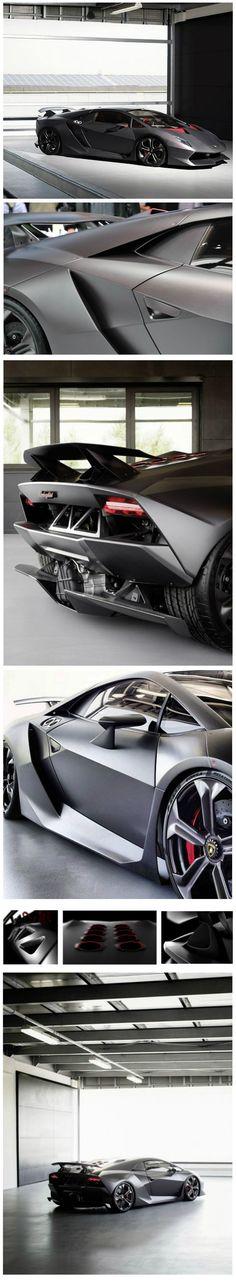 Lamborghini Sesto Elemento #LamborghiniSestoElemento